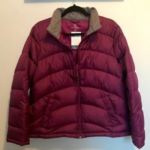 Lands' End Down Fill Puffer Coat